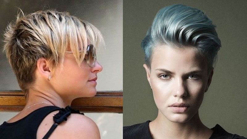 2019 Pixie Haircuts & Short Bob Haircuts For Women
