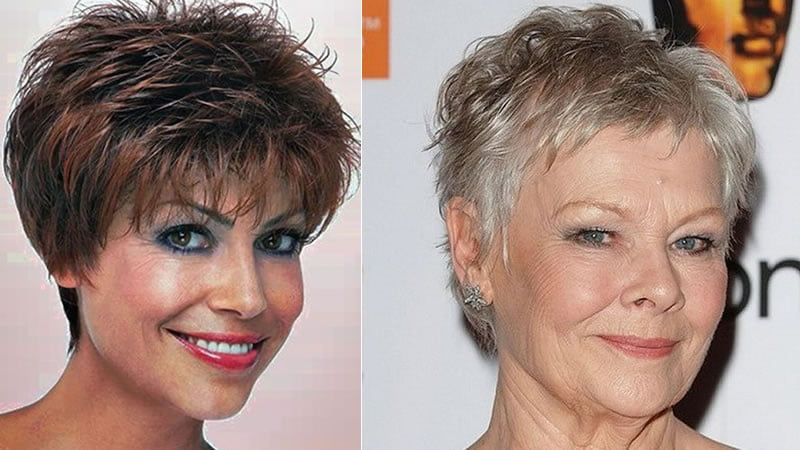 Hairstyles 2019 Older Female: 2019 Short Haircuts And Hairstyles For Older Women Over 50