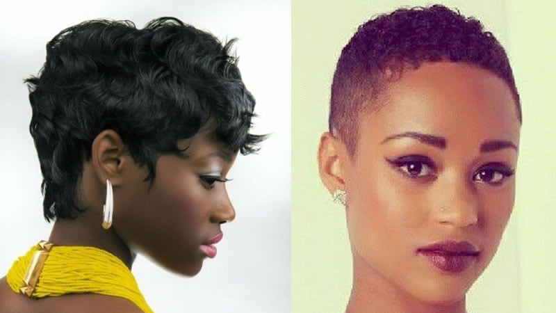 Hairstyles 2019: 30 Cute Short Hairstyles For Black Women 2019 & Pixie