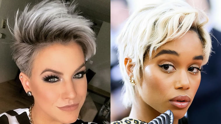Pixie & Bob haircuts, hairstyles and hair colors 2019-2020