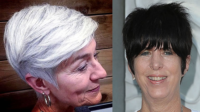 Pixie Haircuts for older women 2020