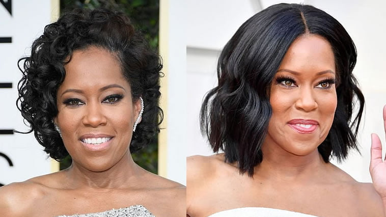 Regina King's Haircuts, hairstyles and hair color ideas 2020