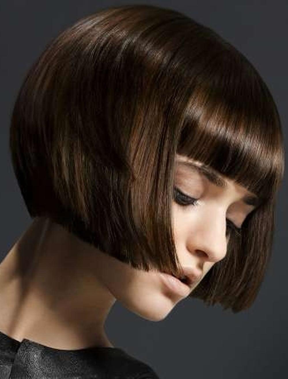 short bob haircuts for straight hair 20192020  hair colors