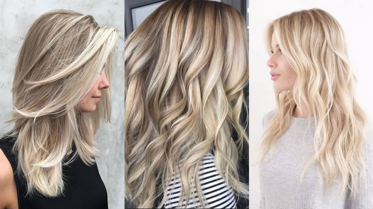 Blonde hair color 2019-2020