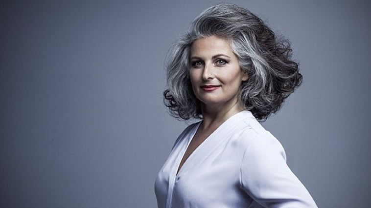 Gray hair colors for women 2019-2020