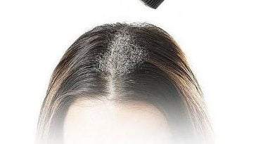 Hair styling powder