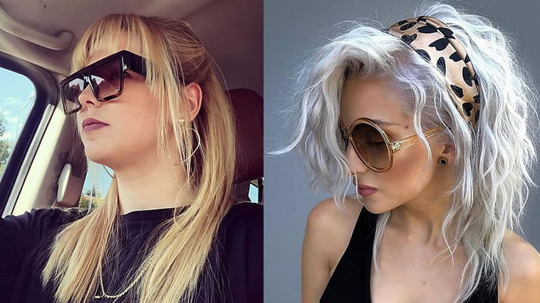 Trendy hairstyles with bangs