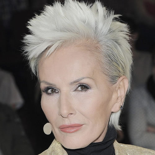 Spiky pixie cut for women over 60 in 2020