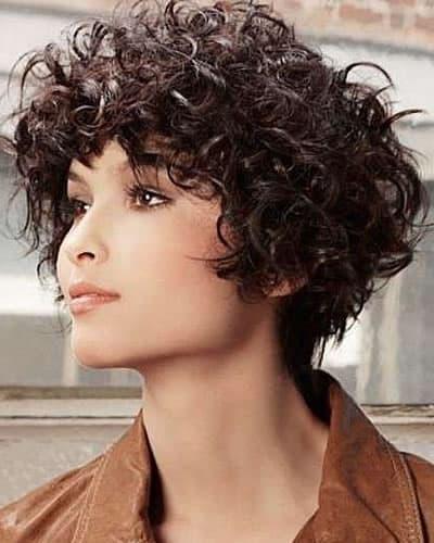 Short curly hair 2020