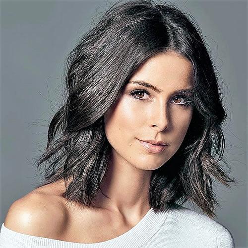 medium length hairstyles 2020  hair colors