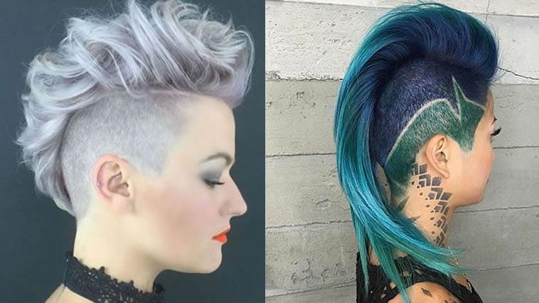 Mohawk hairstyles for women in 2020