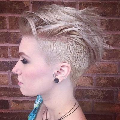 Mohawk hairstyles 2020