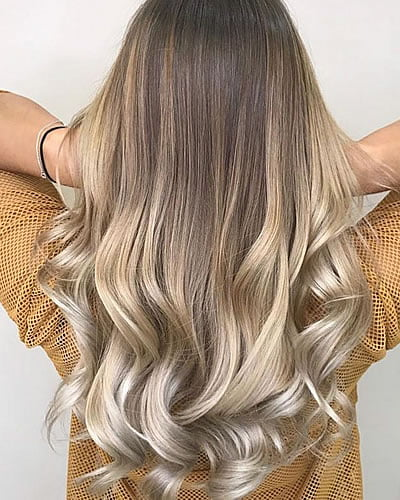 Ombre hair color 2020
