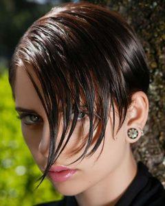 asymmetrical short bob haircuts 2020  2021  hair colors