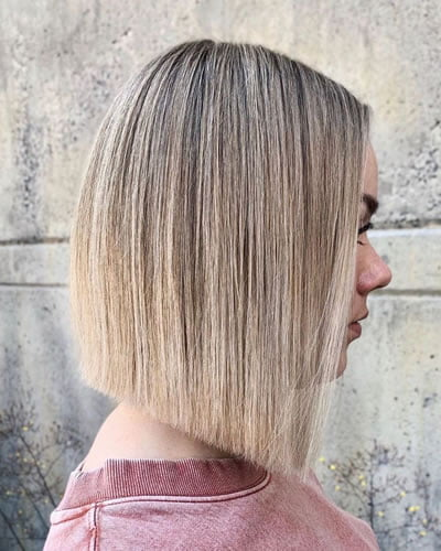 Blunt haircut 2020 - 2021