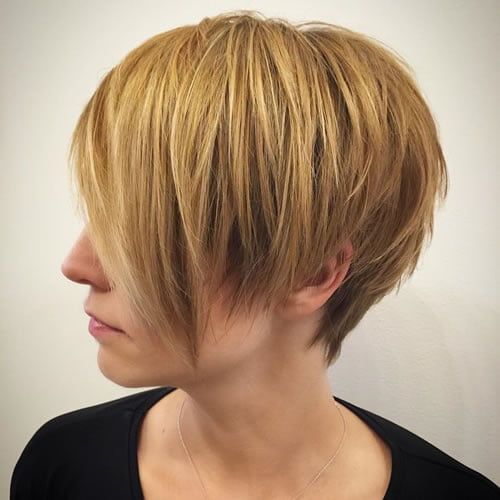 Long Pixie haircuts 2020 - 2021
