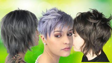 Short Shag Hairstyles 2020 - 2021