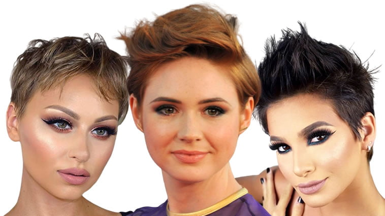Short haircuts for women in 2020 - 2021