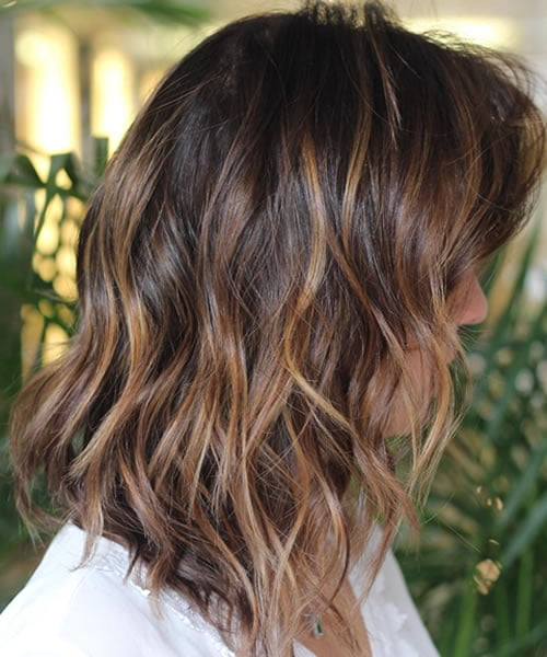 2020 lob with caramel highlights