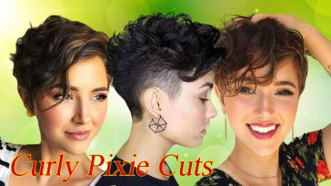 Curly Pixie Cuts 2020 - 2021