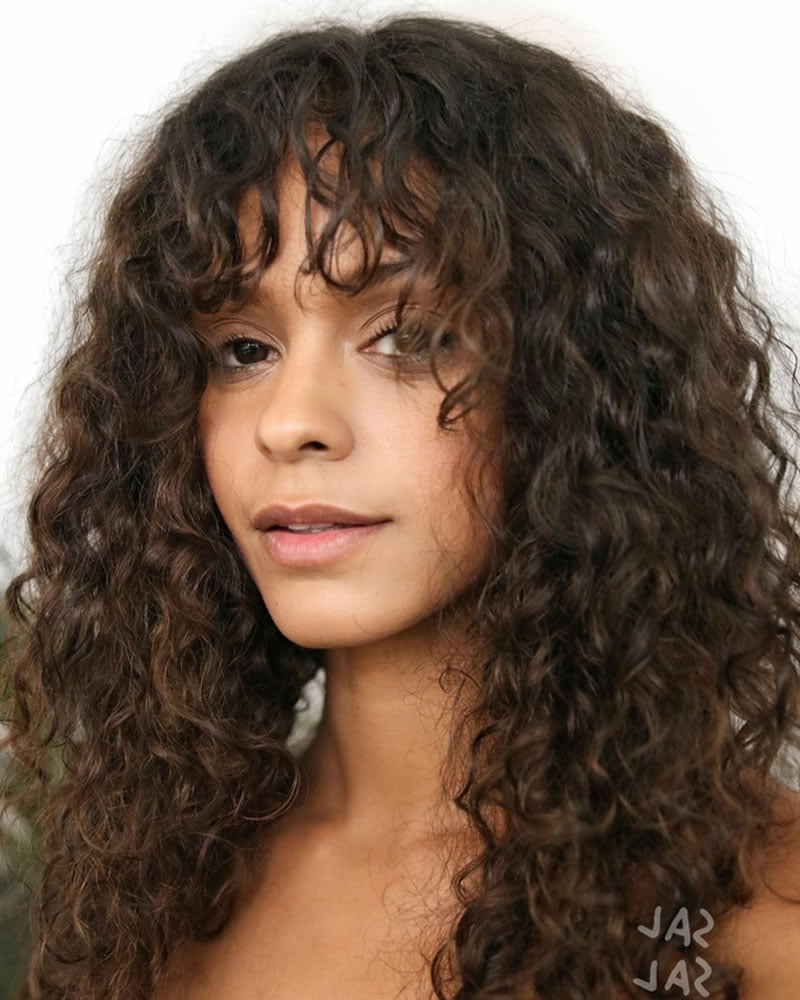 20 Elegant Natural Curly Hairstyles for Women in 2020 ...