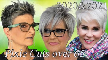 Pixie haircuts for women over 65