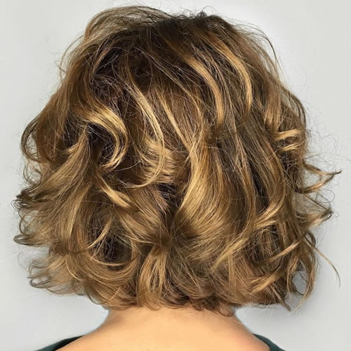 Short curly hairstyles 2020 - 2021 - Hair Colors