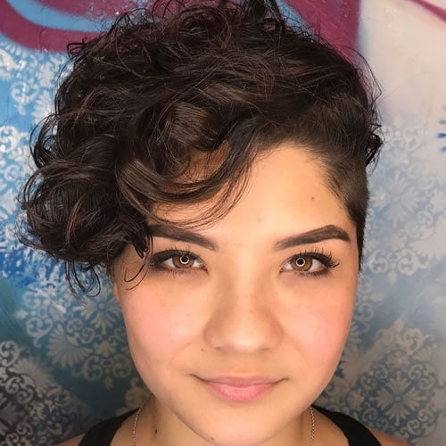 Short curly hairstyles 2020 - 2021
