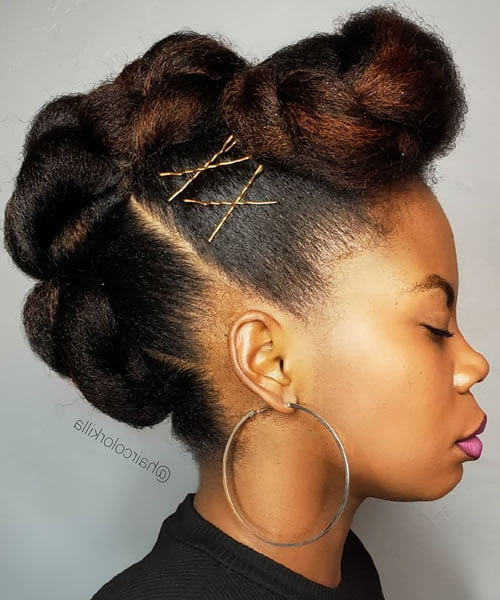 Updo hairstyles 2020 - 2021