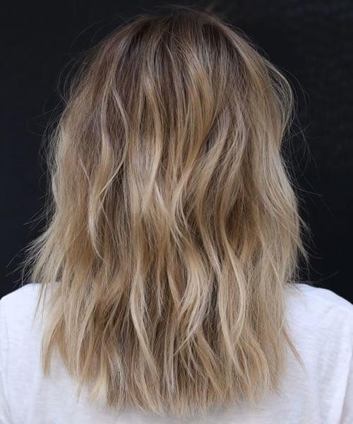 Casual Beach Blonde Hair