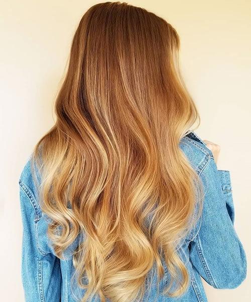 Reddish Blonde Hair Ombre