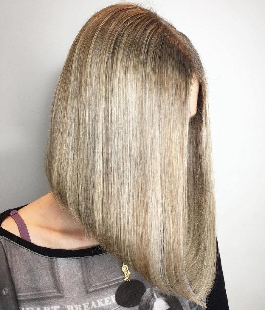Long Bob (Lob) haircuts and hair colors 2021