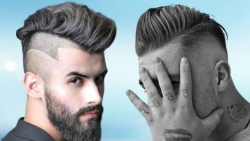 2021 Undercut haircuts for men