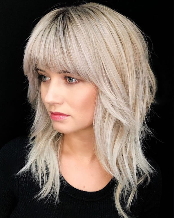 Hair Styles For Women 2021 : Medium Length Hairstyles for Women 2021 - Hair Colors - Women with ...