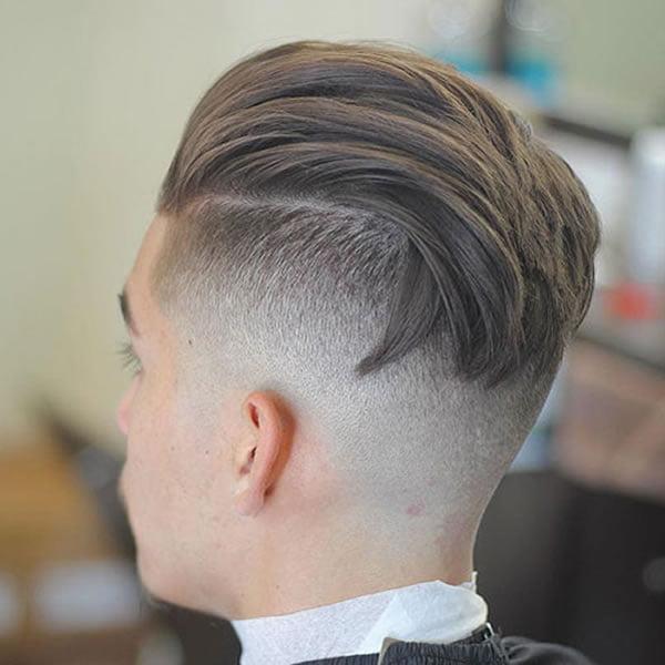 2021 Undercut haircuts for men - Hair Colors