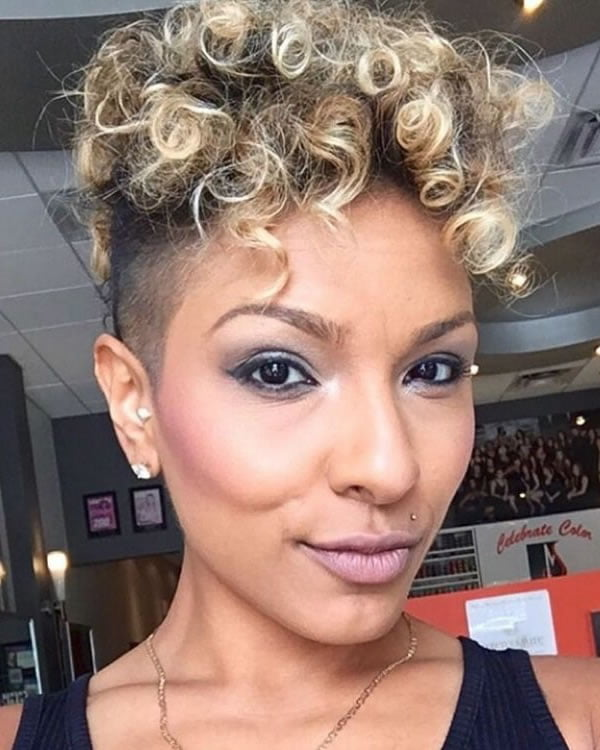 Mohawk hairstyles for girls 2021
