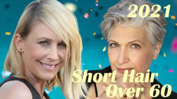 Short Haircuts and Hairstyles for Women over 60 in 2021