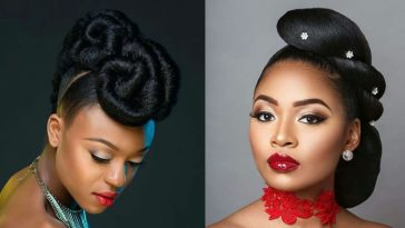 Black Updo Hairstyles 2021-2022