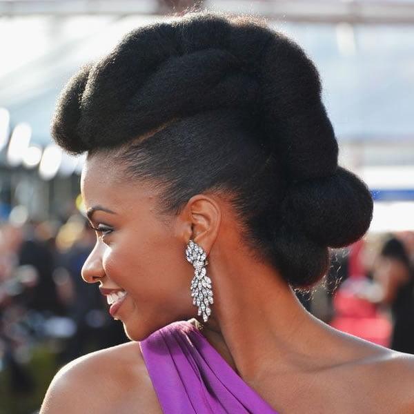 Black Updo Hairstyles 2021-2022