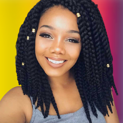 Black braids hairstyles for 2021-2022
