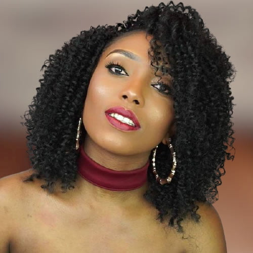 Braided Bob hairstyles for black women 2021-2022