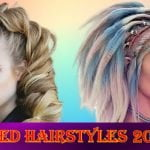 Crimped hairstyles 2021-2022