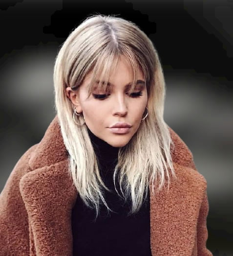 20 Cool Long Hairstyles with Bangs for 2021