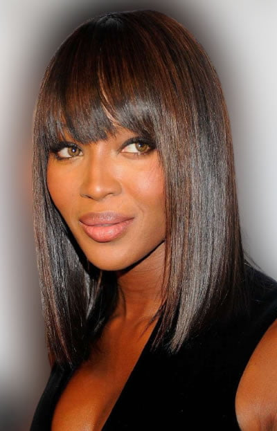 Long hairstyles with bangs 2021-2022