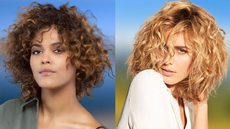 Medium Length Curly Hairstyles for Women