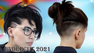 Undercut haircuts for women 2021-2022