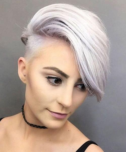 Undercut haircuts for women 2021-2022