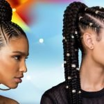 2021 Cornrow hairstyles for black women