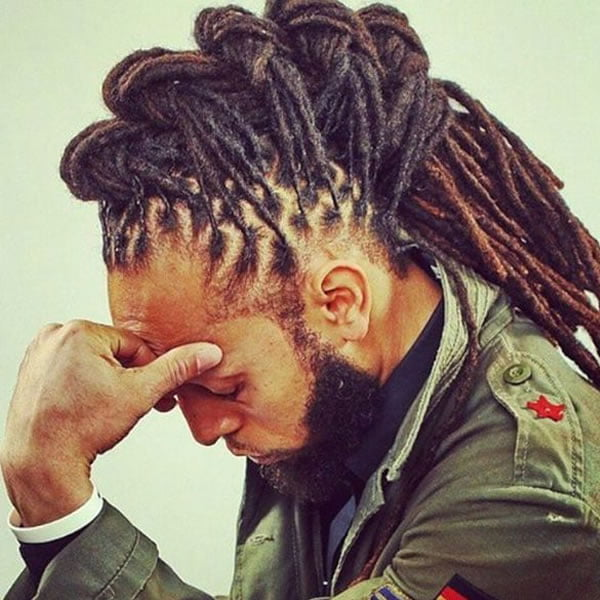 2021 dreadlock hairstyles for men - Hair Colors