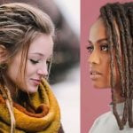 2021 dreadlock hairstyles for women